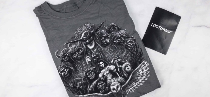 Loot Tees January 2018 Review & Coupon