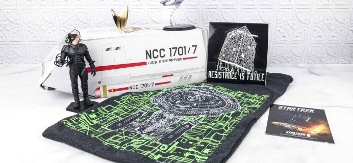Star Trek: Mission Crate January 2018 Subscription Box Review + Coupon!