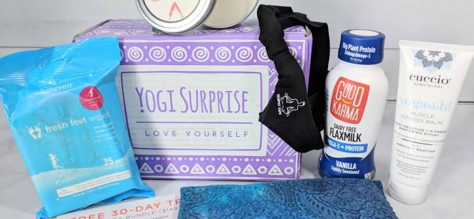 Yogi Surprise Subscription Box Review + Coupon – March 2018