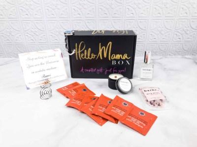 Hello Mama Box March 2018 Subscription Box Review + Coupon