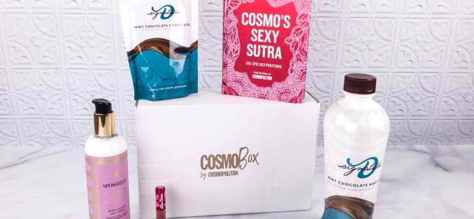 CosmoBox February 2018 Subscription Box Review