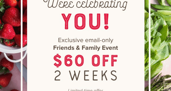 Sun Basket Deal: Get $60 Off Your First 2 Weeks – Last Chance!