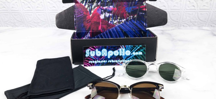SubApollo Spring 2018 Subscription Box Review + Coupons – Mens