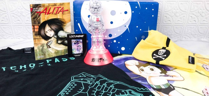 Loot Anime February 2018 Subscription Box Review & Coupons – TECH