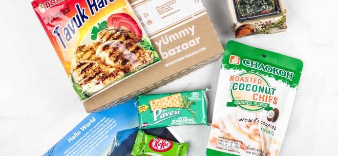 March 2018 Yummy Bazaar Subscription Box Review – Mini Box