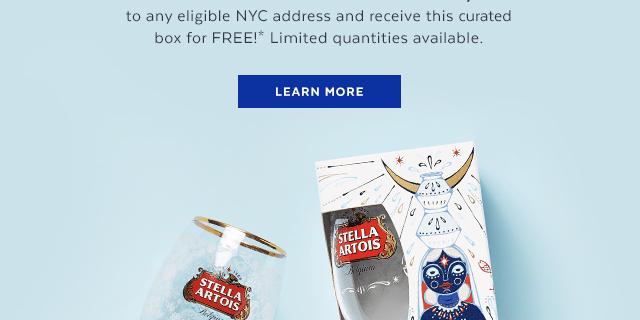 POPSUGAR x Stella Artois Free Gift – No purchase necessary!