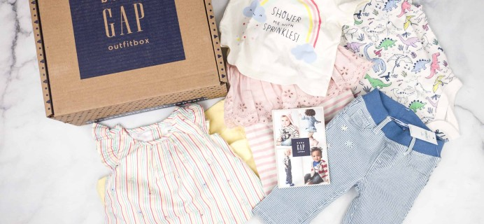 babyGap OutfitBox Spring 2018 Subscription Box Review