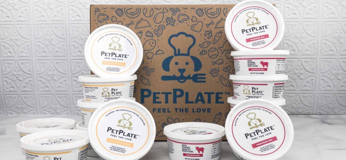 PetPlate Review + Coupon!