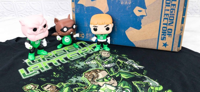 DC Legion of Collectors March 2018 Subscription Box Review