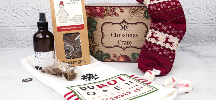 My Christmas Crate March 2018 Subscription Box Review + Coupon