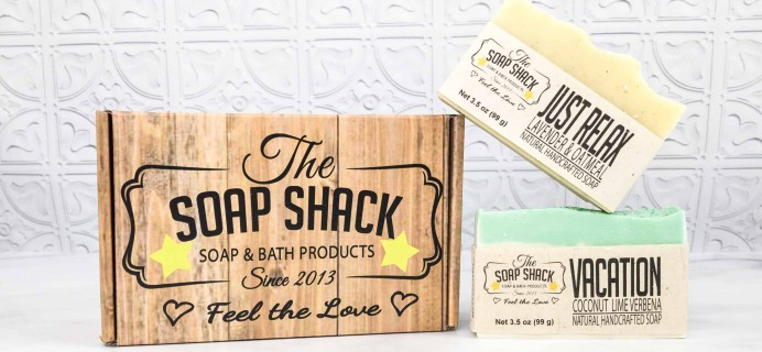 The Soap Shack Soap Club March 2018 Subscription Box Review + Coupon