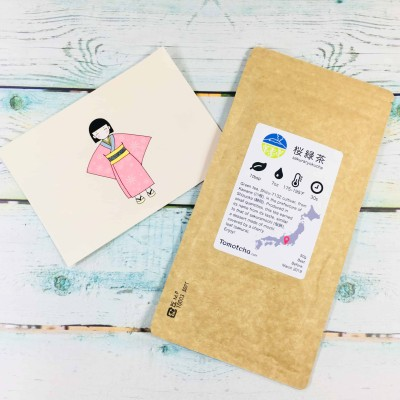 Tomotcha Tea April 2018 Suscription Box Review