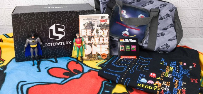 Loot Crate DX March 2018 Subscription Box Review & Coupon