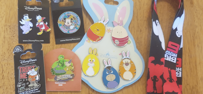 Magical Surprise Jumbo Pin Box March 2018 Full Reveal + Coupon!