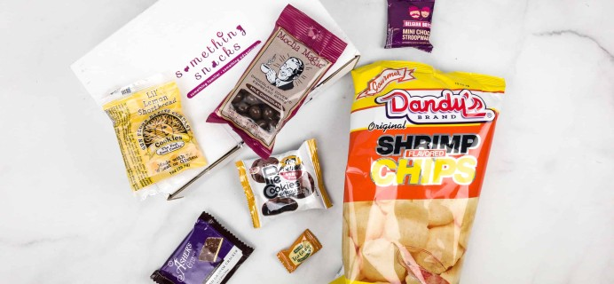 Something Snacks March 2018 Subscription Box Review