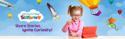 LeVar Burton Kids Skybrary Deal: Get 1 Month Free Trial!