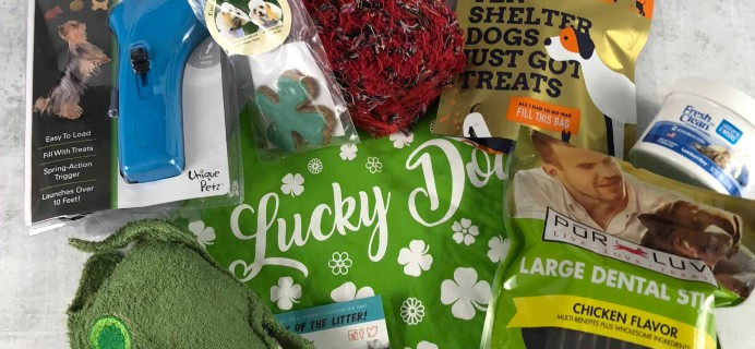 Pet Treater Dog Subscription Box Review + Coupon – March 2018