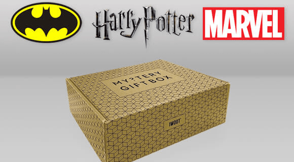 IWOOT Mystery Gift Box: Batman, Harry Potter & Marvel Mystery Boxes Available Now!