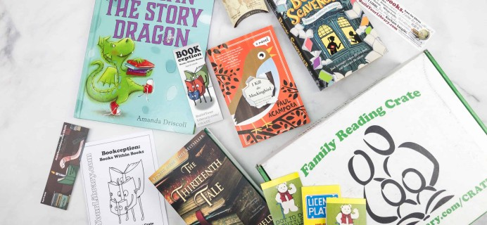 Family Reading Crate April 2018 Box Review