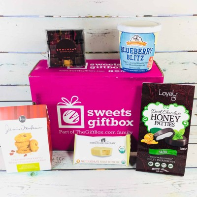 Sweets Gift Box March 2018 Subscription Box Review + Half Off First Box!