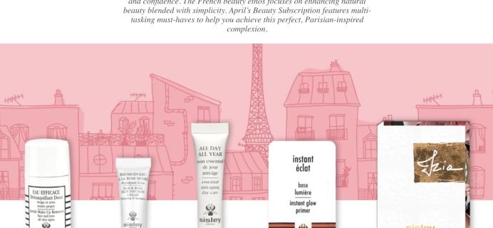 Sisley Paris Beauty Box April 2018 Full Spoilers