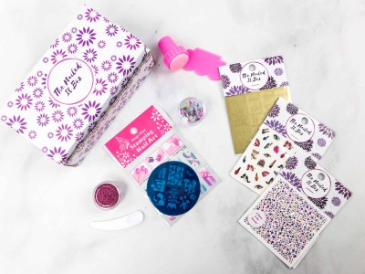 Nailed It! Nail Art Made Easy March 2018 Subscription Box Review + Coupon