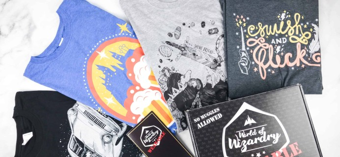 Geek Gear World of Wizardry Wearables Subscription Box Review + Coupon – March 2018