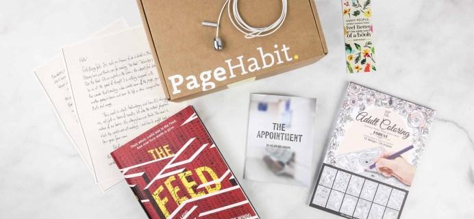 PageHabit March 2018 Subscription Box Review + Coupon – Sci Fi