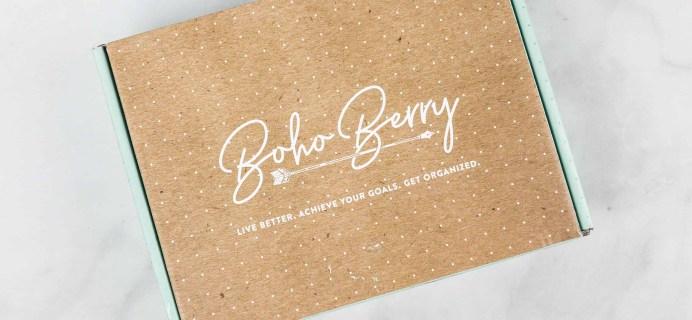 Boho Berry Box August 2019 Full Spoilers!