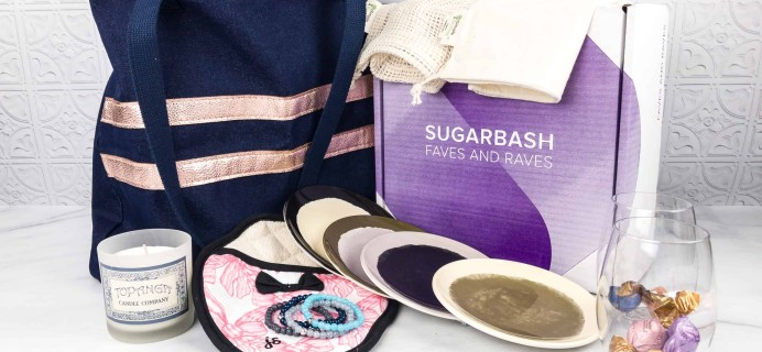 Sugarbash Spring 2018 Subscription Box Review