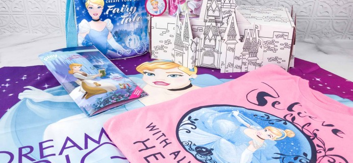 Disney Princess Pleybox March 2018 Subscription Box Review