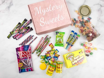 Mystery Sweets April 2018 Subscription Box Review + Coupon