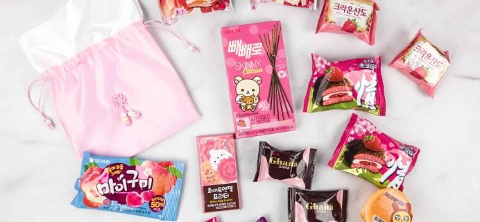 Korean Snack Box April 2018 Subscription Box Review + Coupon