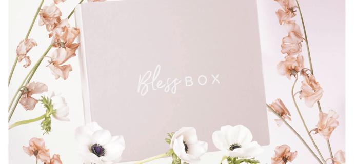 Bless Box Spring 2018 Bonus Box $15 Coupon!