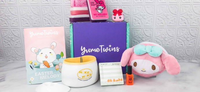 YumeTwins April 2018 Subscription Box Review + Coupon