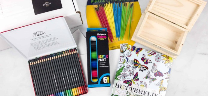 Willow Lane Books The Craft Box April 2018 Subscription Box Review + Coupon