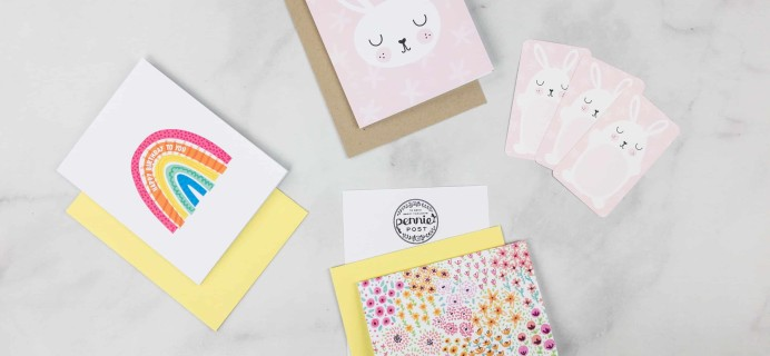 Pennie Post Stationery March 2018 Subscription Review + Coupons