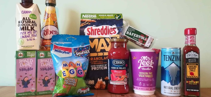 DegustaBox UK March 2018 Subscription Box Review + Coupon!