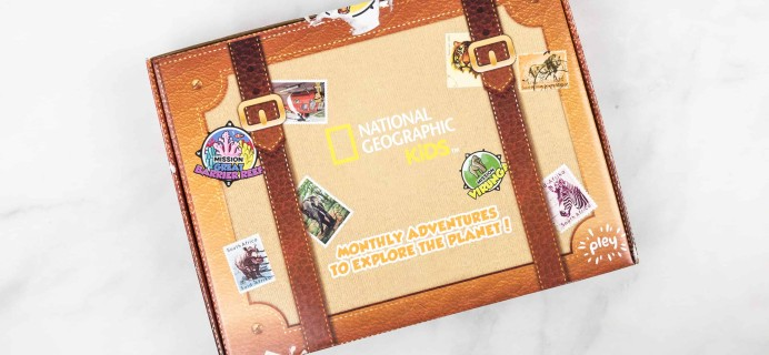 NatGeo Pleybox Subscription Box Review + Coupon – Mission Serengeti!