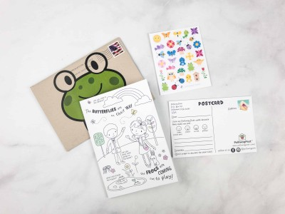 Polliwog Post March 2018 Subscription Box Review + Coupon!