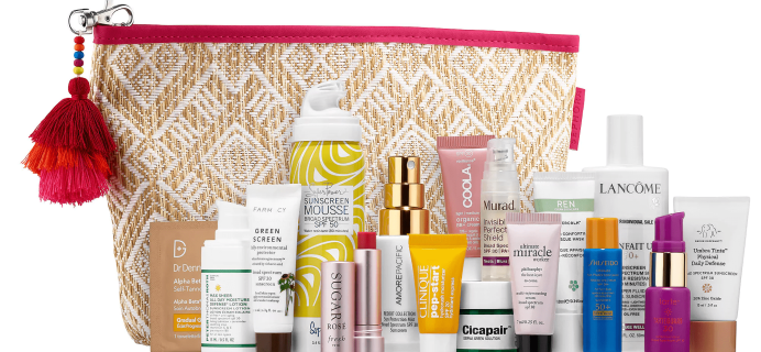Sephora Sun Safety Kit 2018 Available Now + Coupons