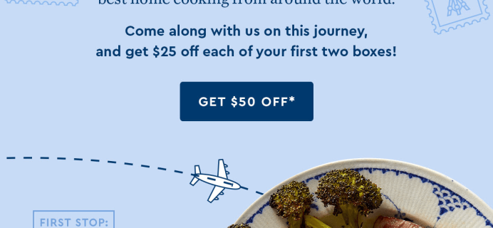 Blue Apron x AirBnb Around The World Series Available Now: Save $50 On First 2 Boxes!