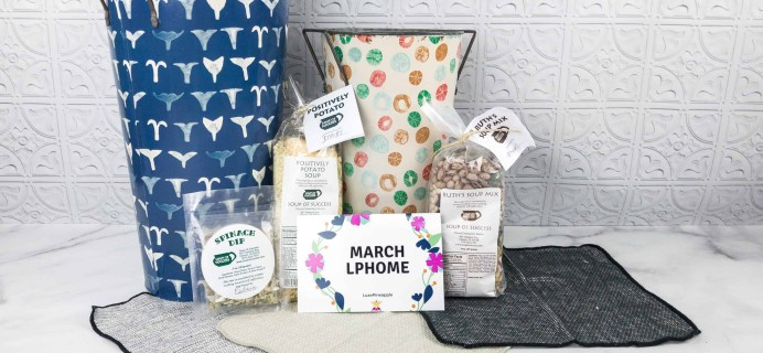 Luxe Pineapple Post Home Box March 2018 Subscription Box Review