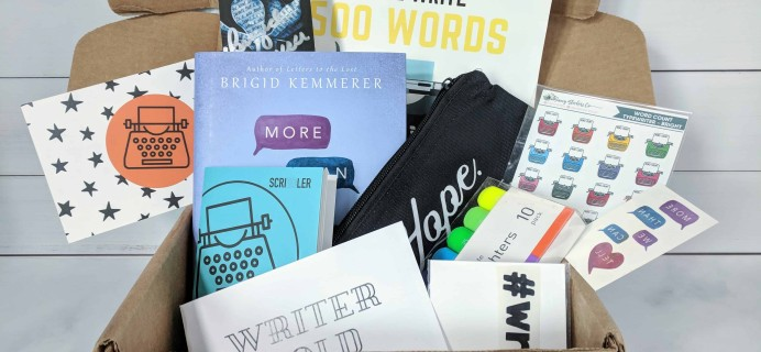 Scribbler Subscription Box Review – March 2018