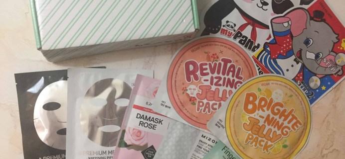 Beauteque Mask Maven March 2018 Subscription Box Review + Coupon