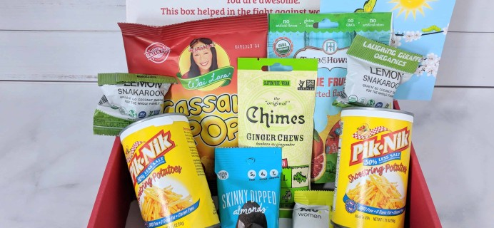 Love With Food Gluten-Free April 2018 Subscription Box Review + Coupon