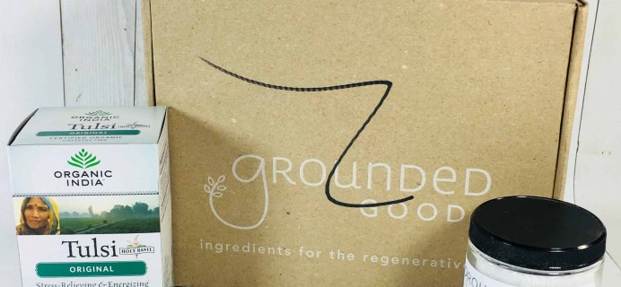 Grounded Goods April 2018 Subscription Box Review