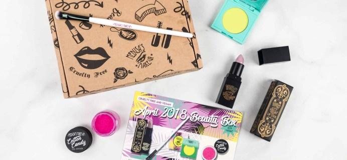 Medusa's MakeUp Beauty Box Subscription Box Review – April 2018