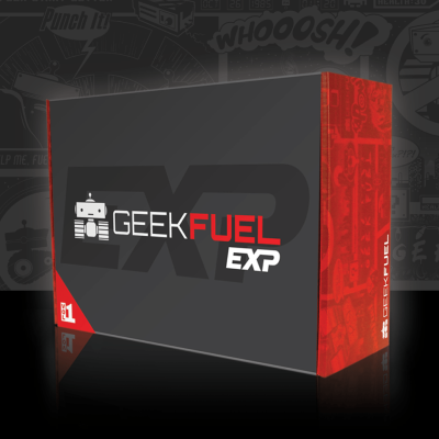 Geek Fuel Exp Vol VII Winter 2019 Spoilers + Coupon