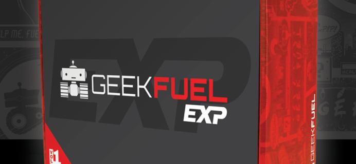 Geek Fuel Exp Vol VII Winter 2019 Spoilers + Coupon